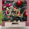 Decoration on Christmas Tree Digital Print Tapestry - MULTI-A