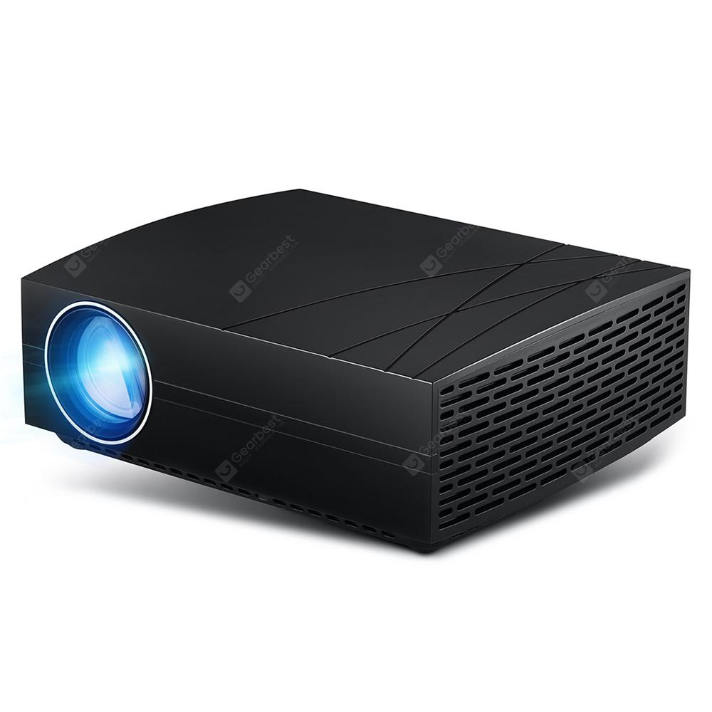 Bilikay F20 Pro 4800 Lumens BD1920 Smart Projector - Black Mirroring Screen