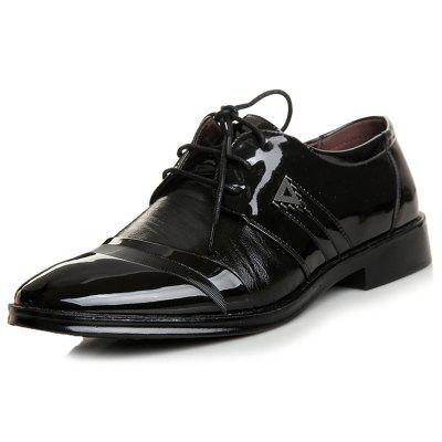 Men's Business Lace-up Dress Shoes Pointed Toe