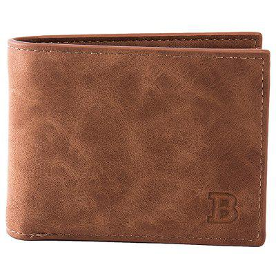 YAJIANMEI LS685 Men's Short Wallet Casual Vintage Coin Bag