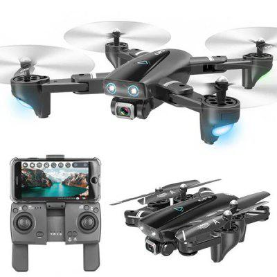 SG901 4K 2.4G WiFi Foldable RC Quadcopter with Adjustable Wide-angle Camera Optical Flow Positioning RTF Image