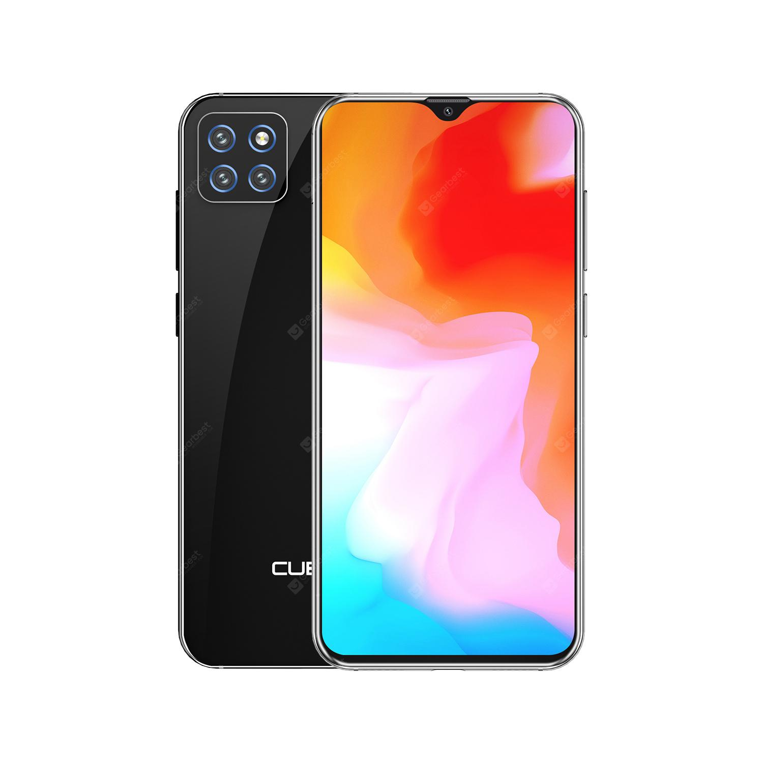 CUBOT X20 Pro 6.3 inch 4G Smartphone with 6GB RAM 128GB ROM AI Triple Camera Android 9.0 4000mAh Battery - Black