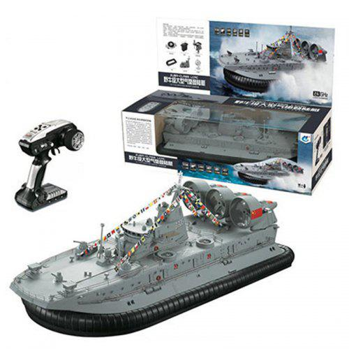 Hg C201 1 110 2 4g Rc Brushless Hovercraft Remote Control Watercraft War Boat
