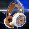 NUBWO / Wolf N1 E-sports Eat Chicken Gaming Headset Computer Headset Headset - WHITE