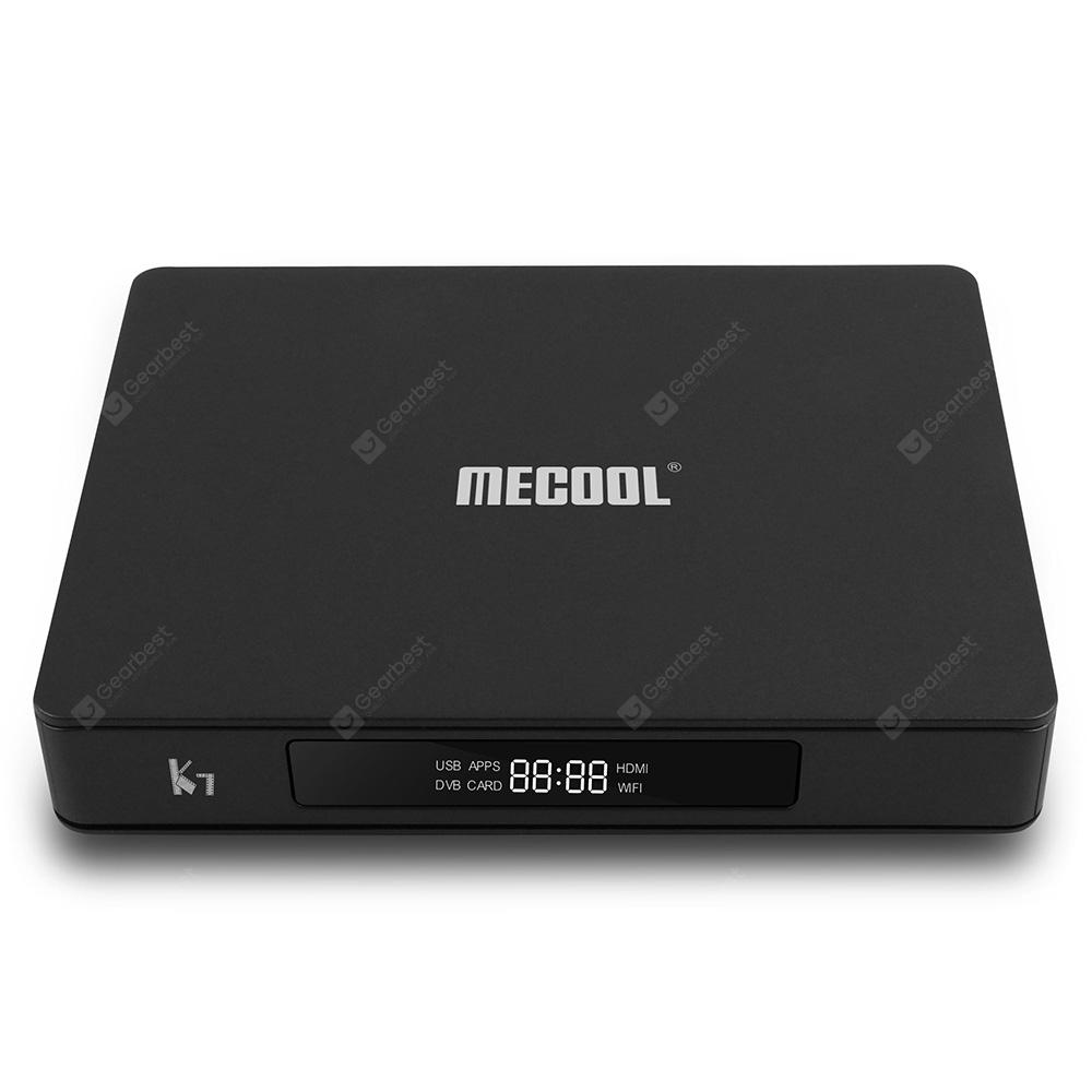 MECOOL K7 DVB - S2 - T2 / TC 4GB LPDDR4 64GB EMMC 4K TV Box