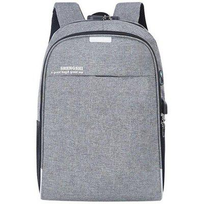 YAJIANMEI LS632 Men's USB Charging Casual Backpack Business Multi-functional Anti-theft Bag