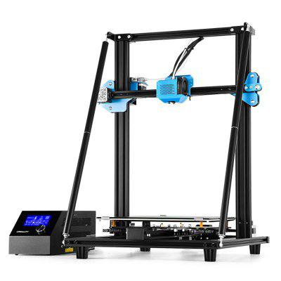 Creality CR - 10 V2 Updated Version 3D Printer DIY Kit 300 x 300 x 400mm Print Size with 24V 350W Meanwell Power Supply All-metal Extruding Unit - Black EU Plug