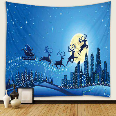Woondecoratie Kerst Flying Deer Patroon Tapestry