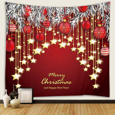 Home Festival Christmas Light Pattern Tapestry