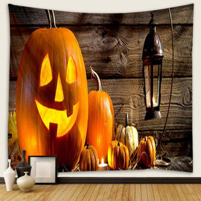Home Halloween Pumpkin Pattern Tapestry
