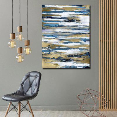 QINGYAZI HQ002 Hand-painted Abstract Oil Painting Home Wall Art