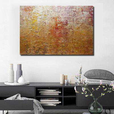 QINGYAZI HQL038 Hand-painted Abstract Oil Painting Home Wall Art