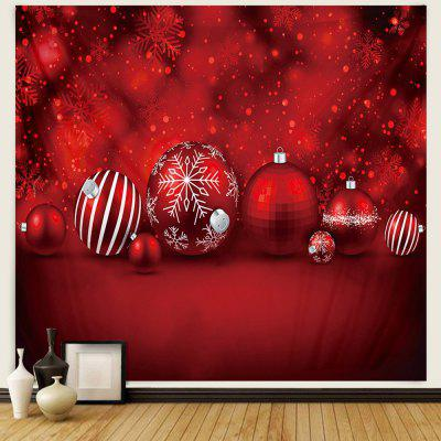Christmas Candy Pattern Polyester Tapestry Wall Background DIY Holiday Decoration