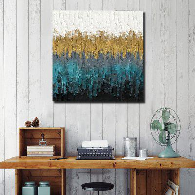 QINGYAZI HQL0L41 Hand-painted Abstract Oil Painting Home Wall Art