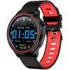 Bilikay L8 1.2 inch Nordic 52832 Metal IP68 Waterproof Full Touch Smart Watch 320mAh 7 Days Battery Life - RED