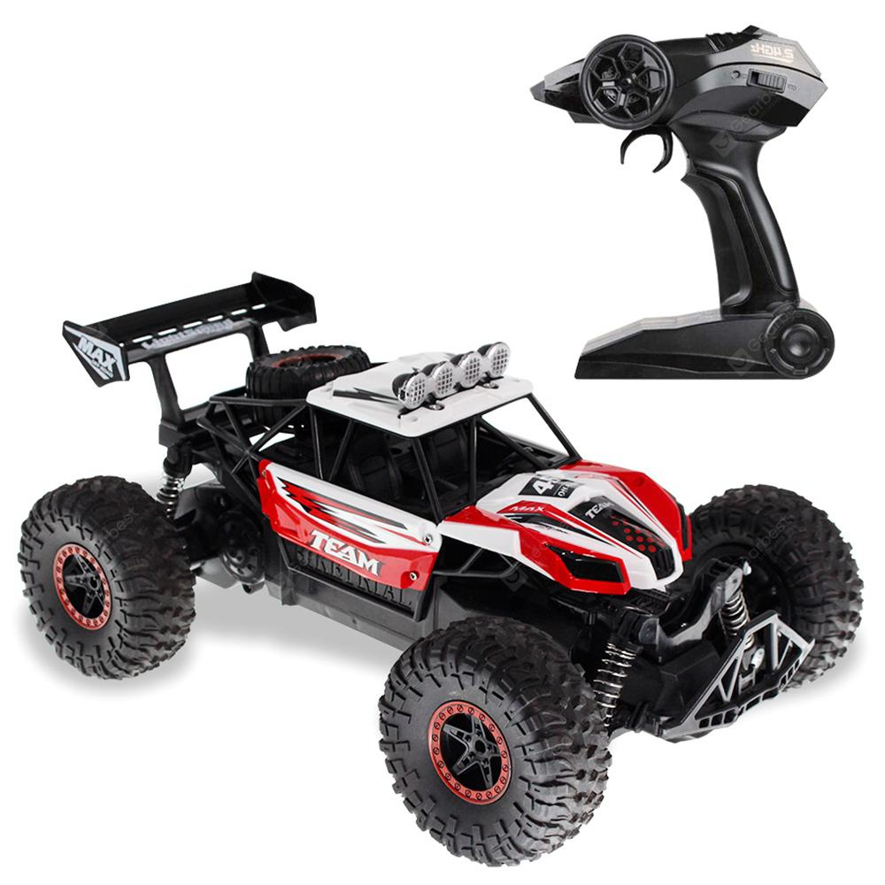 Flytec 6029 20km/h High Speed Racing Car 2.4GHz 1:16 Off Road RC Crawler - Red