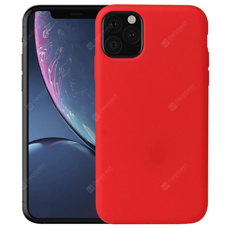 """Naxtop Soft TPU Back Cover Phone Case for iPhone 11 Pro Max / 11 Pro / 11 - For iPhone 11 Pro Max Red"""