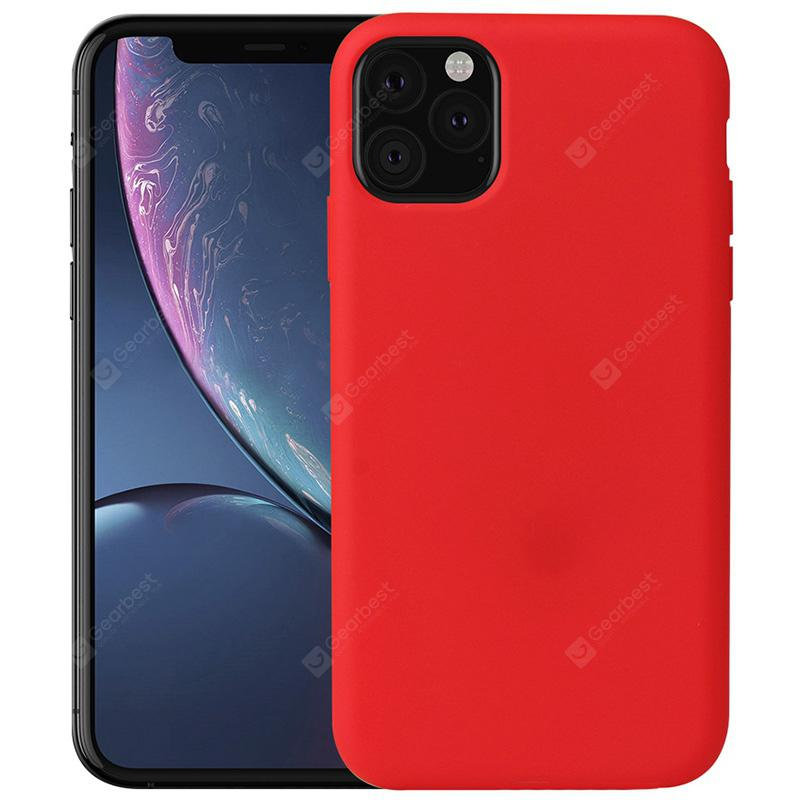 """Naxtop Soft TPU Back Cover Phone Case for iPhone 11 Pro Max / 11 Pro / 11 - For iPhone 11 Pro Red"""