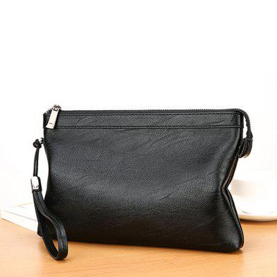 YAJIANMEI LS815 Men's Soft Large Capacity Business Handbag Envelope Bag Easy-match