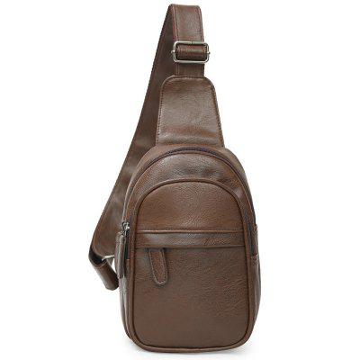 YAJIANMEI LS867 Fashion Business Casual Men Chest Bag Outdoor Shoulder Diagonal Cross