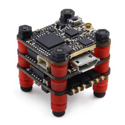 GEPRC STABLE F411 BetaFlight OSD Flight Controller 12A BlheliS 2-4S Brushless ESC 25 / 100 / 200mW VTX Stack 16 x 16mm