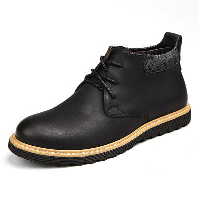gearbest.com - Men's Classic British Style Boots Casual Lace Up Shoes Durable