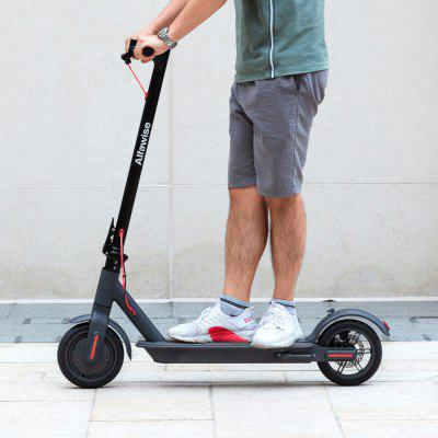 Alfawise M2 Folding Electric Scooter 30km Cruising Distance Puncture-resistant Tire Energy Recovery