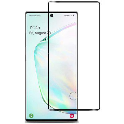 Naxtop 3D Arc tvrzeného skla Protector Full Screen pro Samsung Galaxy Note10 + 5G / Note10 + / Note10 Pro / Note10 5G / Note10