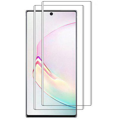 Naxtop 3D Arc Tempered Glass Full Screen Protector for Samsung Galaxy Note10+ 5G / Note10+ / Note10 Pro / Note10 5G / Note10
