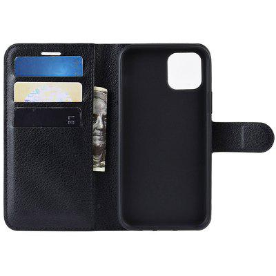 Naxtop TPU + PU Leather Wallet Flip Stand Phone Case Protective with Card Slot for iPhone 11 Pro Max / iPhone 11 Pro / iPhone 11