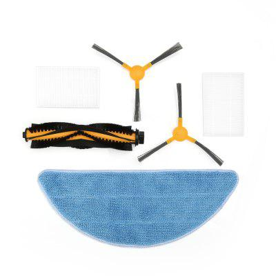 Alfawise Sweeping Robot Vacuum Cleaner Side Brush Filter Accessories Kit for Alfawise V8S PRO