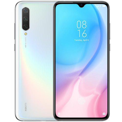 Gearbest Xiaomi Mi 9 Lite 4G Phablet 6GB RAM 128GB ROM Global Version - White 6.39 inch MIUI 10 Qualcomm Snapdragon 710 Octa Core 2.2GHz 48.0MP + 8.0MP + 2.0MP Rear Camera 4030mAh Battery