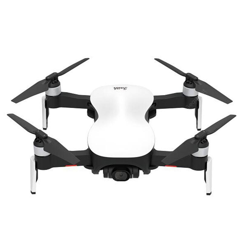 JJRC X12 Foldable Drone 5G WiFi 4K Smart Control HD Camera Stabilizing Platform - White 4K 1 Battery