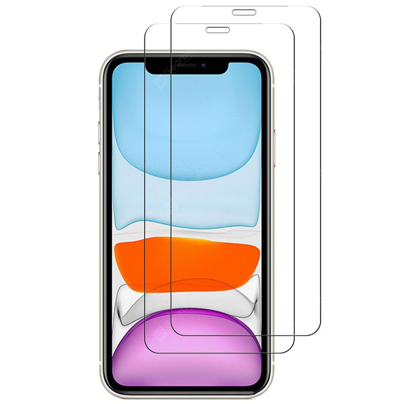 Naxtop 2.5D Tempered Glass Screen Protector for iPhone 11 Pro Max / iPhone 11 Pro / iPhone 11