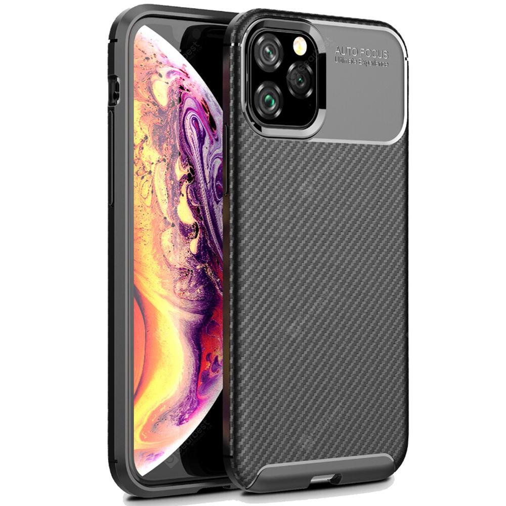 """ASLING Beetle Series TPU Soft Shell Phone Case Full Protection for iPhone 11 Pro / iPhone 11 / iPhone 11 Pro Max - iPhone 11 Pro Black"""