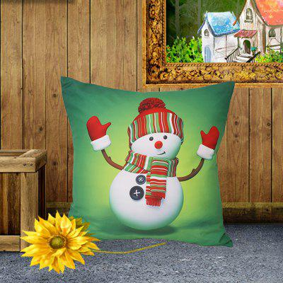 Colorful Style Pillowcase Digital Print Cushion Cover Polyester Short Plush Material 45 x 45cm