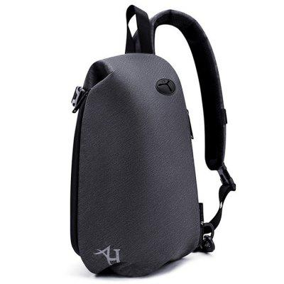 LS951 Mannen Beknopte Borst Bag Crossbody Schouder USB Pack Sport Mini Packet