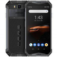 Ulefone Armor 3W 4G 5.7 inch Smartphone Android 9.0 Helio P70 Octa Core 2.1GHz 10300mAh Battery 21.0MP Rear Camera Face ID Fingerprint Recognition IP68 IP69K