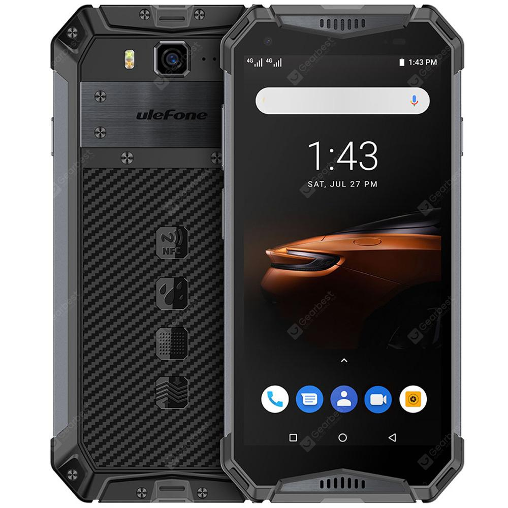 Ulefone Armor 3W 5.7 inch Android 9.0 Helio P70 4GB RAM 64GB ROM 21.0MP Rear Camera 10300mAh  IP68 IP69K