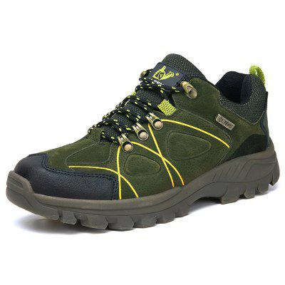 Male Creative Printing Sneakers Anti-collision Toe Non-slip Outsole Hiking Shoes