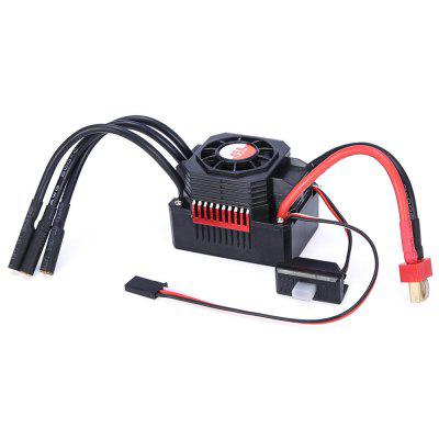 GTSKYTENRC 45A waterdichte ESC Electric Speed ​​Controller voor 1/10 1/12 RC Car 3650 3660 borstelloze motor
