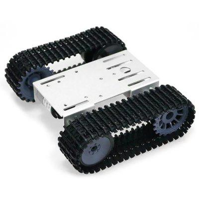 TP101 Intelligent Robot Tank Track Undercarriage Arduino Metal Panels 12V Motor Car