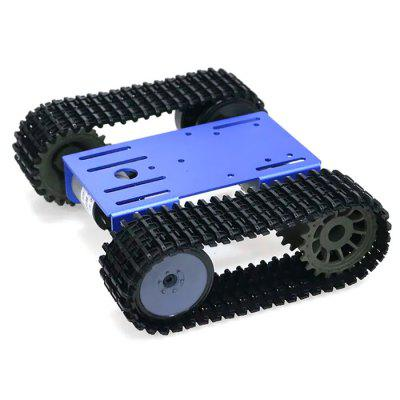 TP101 Intelligent Robot Tank Track Undercarriage DIY Kit Arduino Metal Panels 12V Motor Car