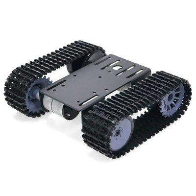 Painéis TP101 Intelligent robô tanque trilha Rodante DIY Kit Arduino metal 12V Motor Car