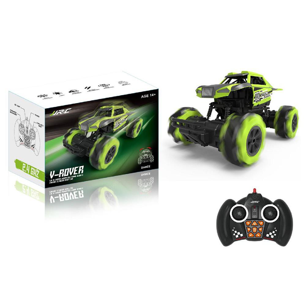 JJRC Q76 4WD Climbing Car Stunt 1:16 12-Channels - Green