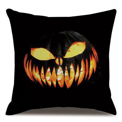 Halloween Style Pillowcase Cushion Cover Facial Expression 45 x 45cm