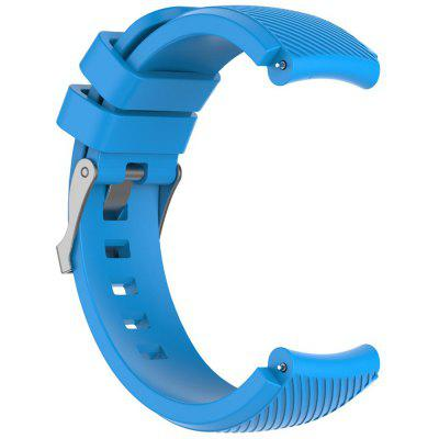 TAMISTER Diagonal Monochrome Silicone Replacement Strap voor Amazfit Watch 3 22mm