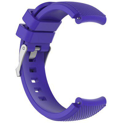 TAMISTER Diagonal Monochrome Silicone Replacement Strap for Amazfit Watch 3 22mm