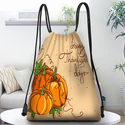 Pumpkin Tote Pouch Gift Candy Bags Backpack