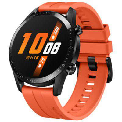 HUAWEI WATCH GT 2 Bluetooth 5.1 46mm Smartwatch Underwater Heart Rate Monitor GPS Position 1.39 inch AOLED Display 14 Days Battery Life Sports Version
